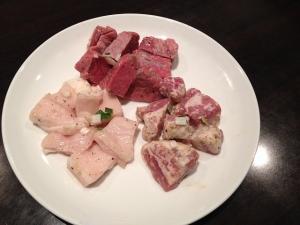 竹屋牛肉店ホルモン20190112