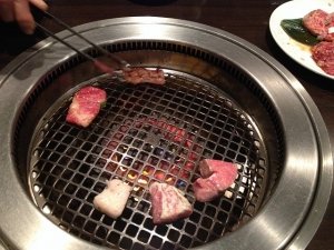 竹屋牛肉店網焼き20190112