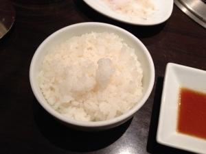 竹屋牛肉店ごはん小20190112