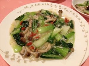 陶陶青菜炒め20190119