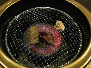 なりちゃん網焼き20190317
