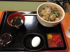 鳴門うどん松阪牛丼20190420
