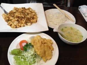 聡集苑マーボ豆腐セット20190608