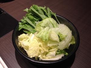 ゆず庵野菜盛り合わせ20191109