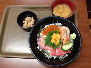 大遠会館海鮮丼20191228