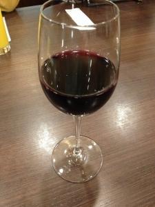 土の中のサラダ赤ワイン20200205