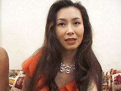 【無修正】佐藤郁子 バブルの香りただようエロ熟女郁子さん