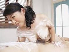 ダイスキ!人妻熟女動画 :五十路母の粋な計らいで自宅でソープごっこ&母子交尾! 田村みゆき