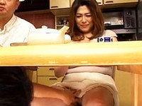 ダイスキ!人妻熟女動画 :嫁の母の卑猥すぎる巨乳を狙い義父の隣で寝取る娘婿 白鳥寿美礼