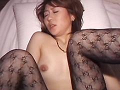 オバタリアン倶楽部 : 【無修正】網タイツ熟女とセックス 田辺由香利