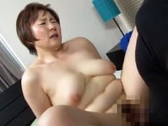 高齢人妻熟女動画 あっふ〜ん : Gカップのぽっちゃり五十路母と息子が掟破りの濃厚セックス! 小原たか子