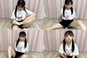 【エロ画像】田口玲佳(STU48)の「くぱぁ」パンチラ筋トレがヤバすぎwwwww