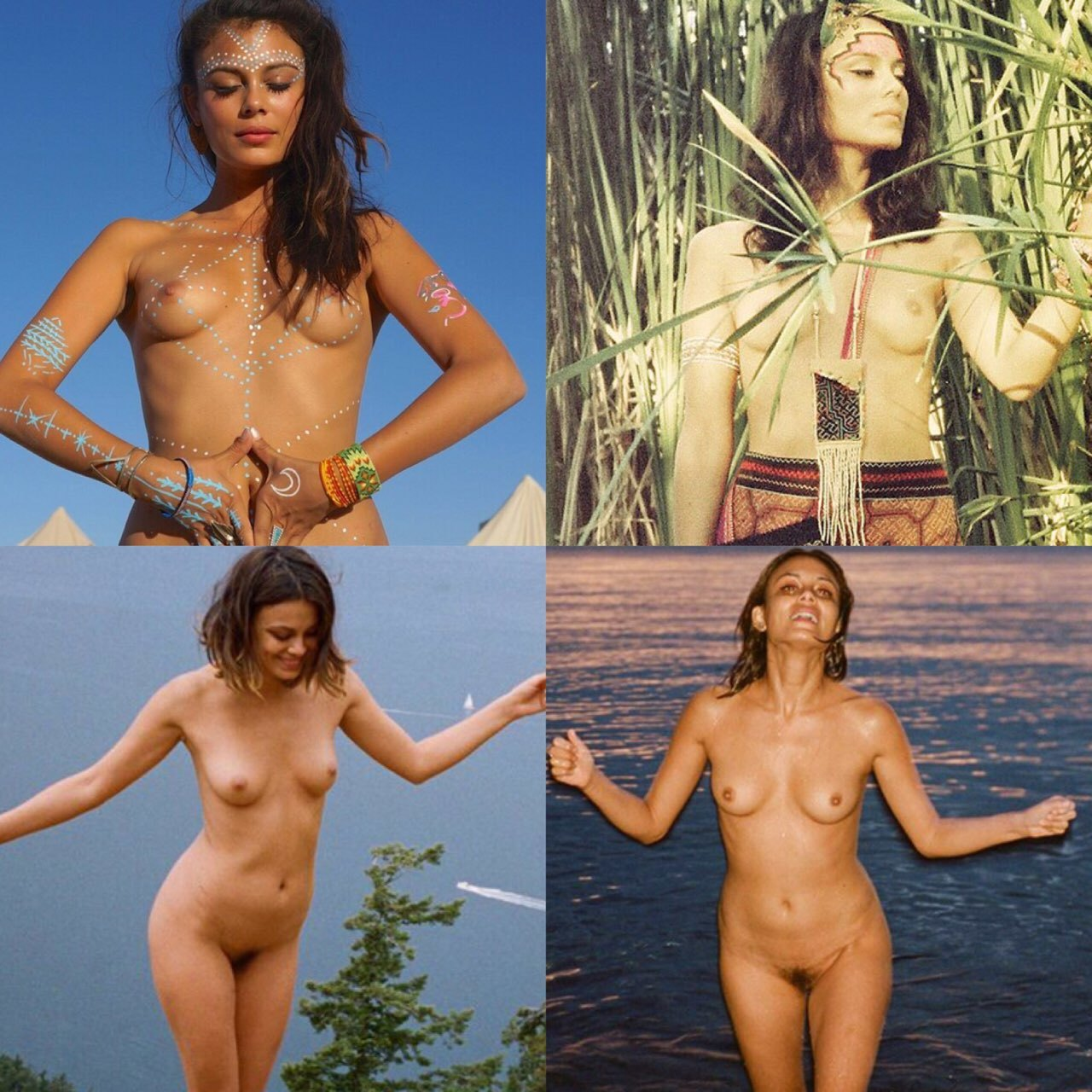 Nathalie kelley gets nude in nature