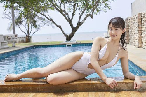 平嶋夏海ちゃんのFカップのムッチムチおっぱい17