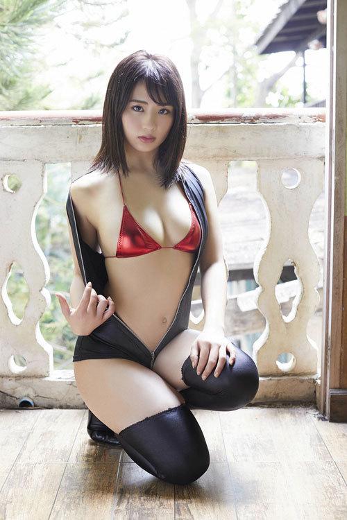 平嶋夏海ちゃんのFカップのムッチムチおっぱい42