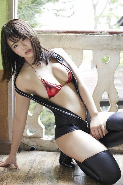 平嶋夏海ちゃんのFカップのムッチムチおっぱい43