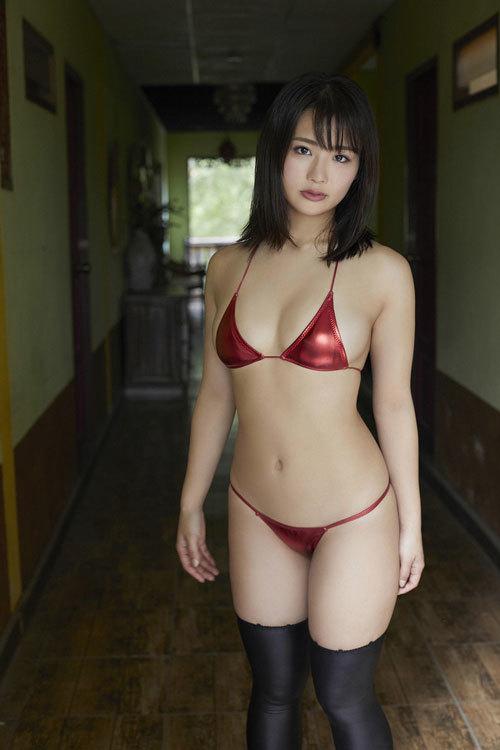 平嶋夏海ちゃんのFカップのムッチムチおっぱい46