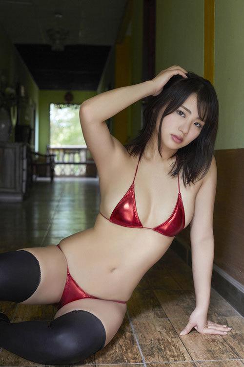平嶋夏海ちゃんのFカップのムッチムチおっぱい49