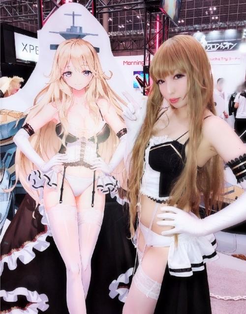 東京ゲームショウ TGS2018に居た、可愛くてエッチなコスプレイヤー画像 125枚【福田もか。伊織もえ 他】