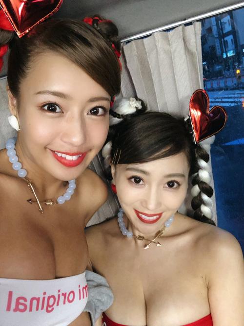 コンドーム宣伝大使の森咲智美と橋本梨菜、もうAV女優みたいなもんだろ…
