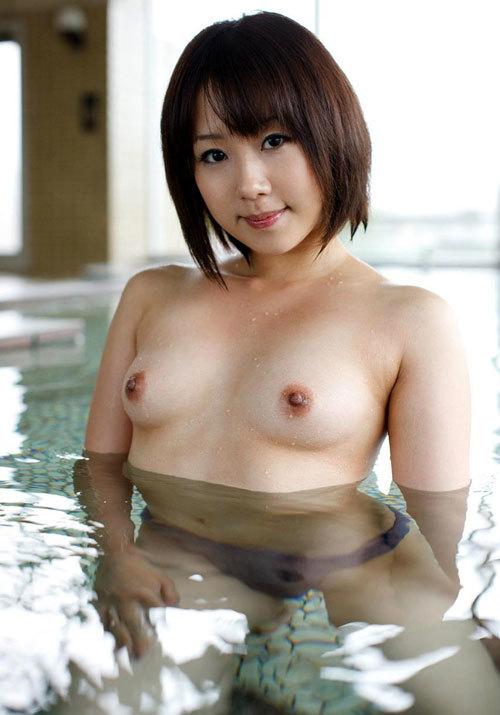 露天風呂でお姉さんのおっぱいで癒やして欲しい2