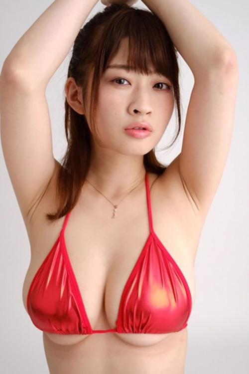 【メイリ(元・純情のアフィリア・Iカップ爆乳)巨乳おっぱいグラビア】画像・動画