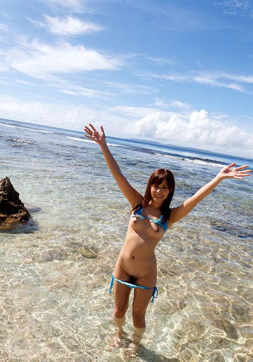 暖かい南半球の海でお姉さんのおっぱいと戯れたい16