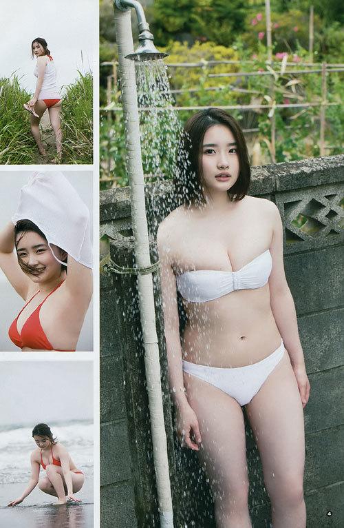 安倍乙の圧倒的透明感なビキニ美少女のおっぱい46