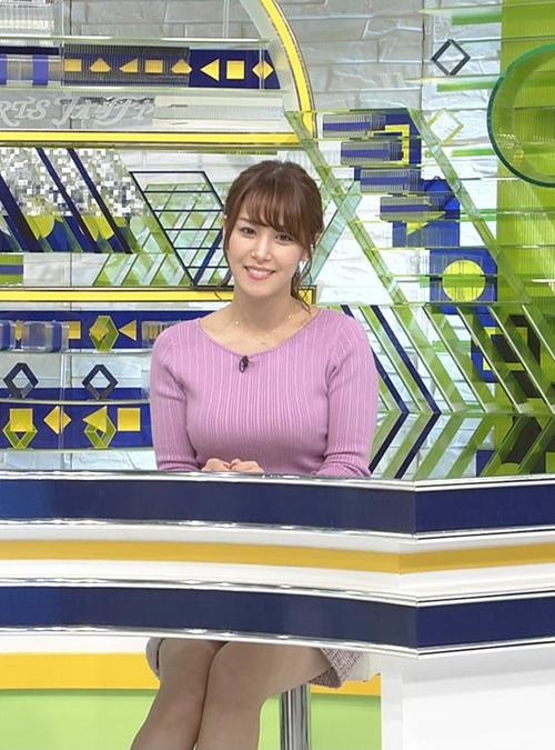 テレ東 鷲見玲奈アナの着衣巨乳が凄すぎてニュースなんてどうでもよくなるレベルな件