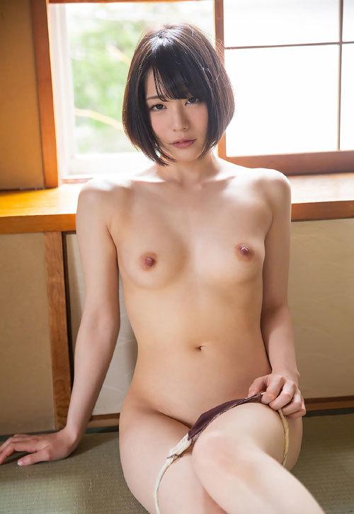 鈴村あいりDカップの美乳おっぱい50