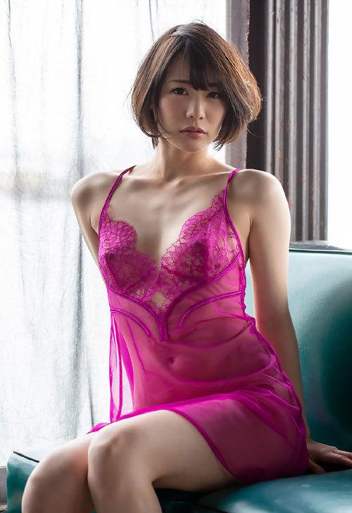 鈴村あいりDカップの美乳おっぱい126