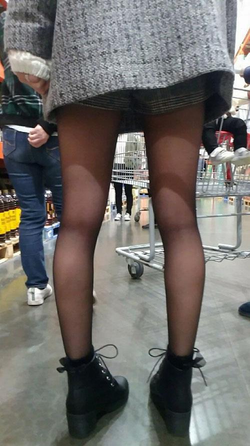 黒パンストを履いた娘たち★エロ画像50枚