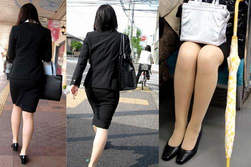 OLたちのタイトスカート特集★エロ画像49枚