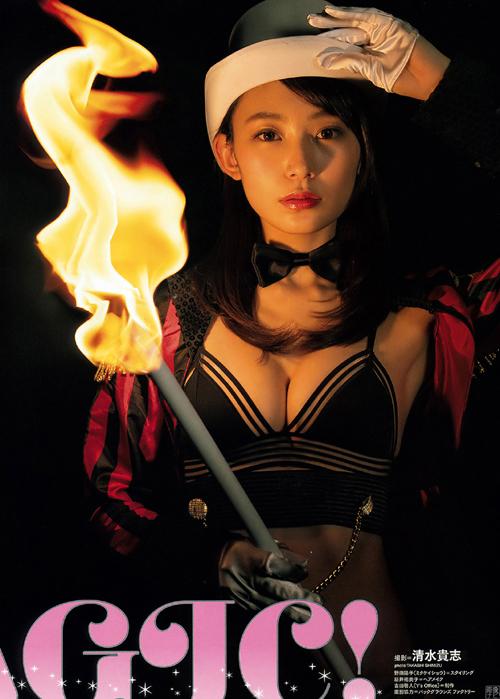 御寺ゆき 人気No.1美女マジシャンの水着グラビア画像