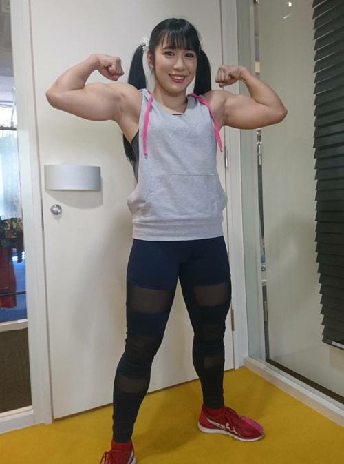 筋肉アイドル・才木玲佳、とんでもないことになっていた!ビフォアアフターの差がwwww