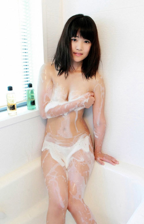 石鹸の泡まみれのおっぱいで洗って欲しい6