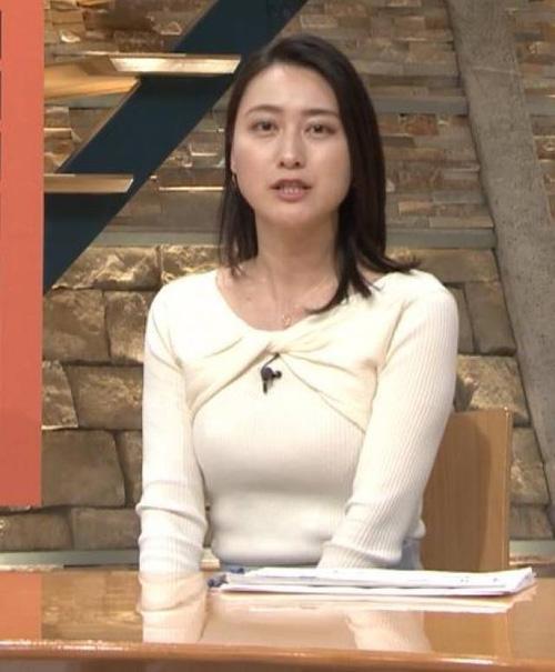 小川彩佳アナの着衣巨乳を23時から見放題な時点でNEWS過ぎる!!