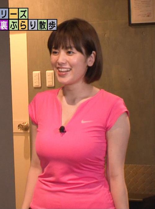 筧美和子がモヤモヤさまぁ~ず2で見せたピチピチスポーツウェア乳がたまらんち