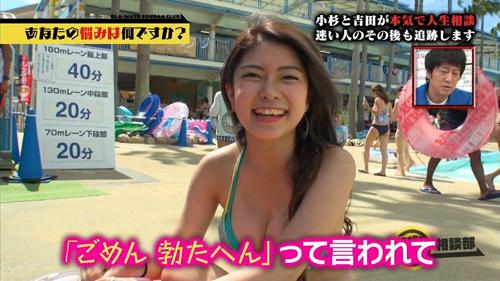 【画像】女友達とプール行ったからおっぱい見てくれ