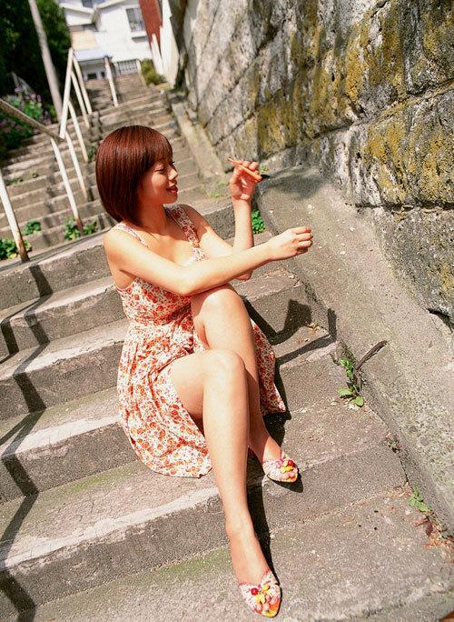 井上和香の昔のワカパイが懐かしいおっぱい43