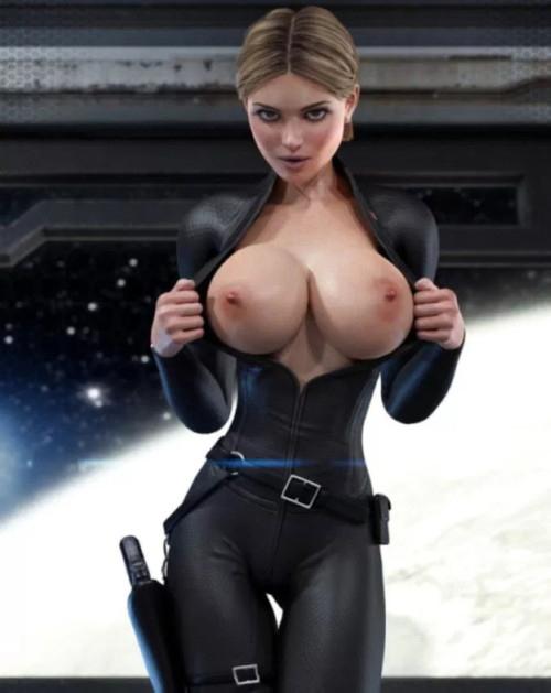 今ではリアルになりすぎてしまった3D映像の女性をご覧ください。。。(画像あり)