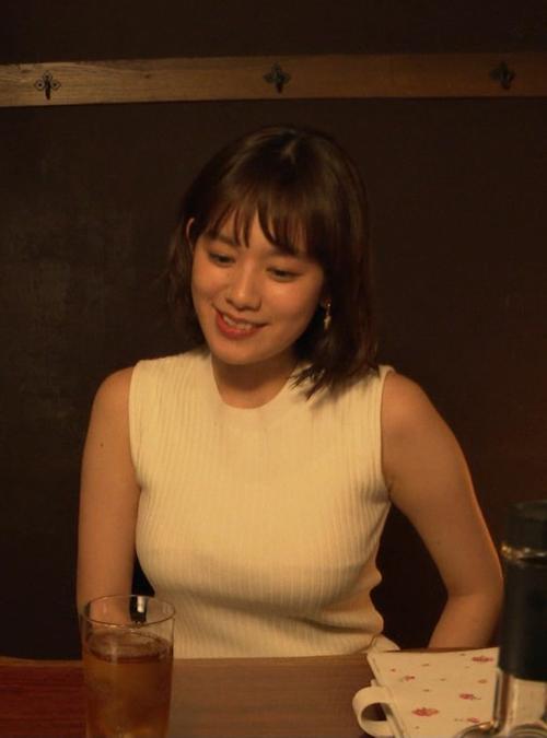 筧美和子が抱かれたい女役を演じた即興ドラマで豊満な着衣巨乳を見せてた件