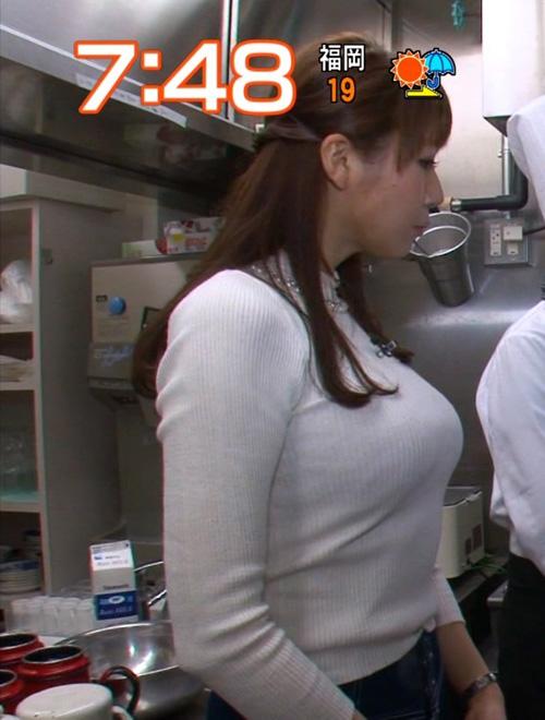 女子アナたちの乳アピール合戦★エロ画像49枚