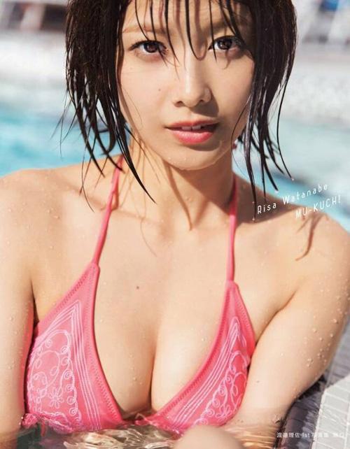 欅坂46渡邉理佐の写真集がピュアエロだったんでセクシーおっぱい画像集めてみた!!【40枚】