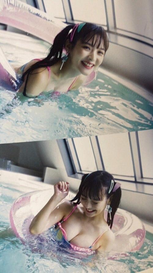 人気声優・上坂すみれさん、AV撮影プールでドスケベ写真を撮られる!