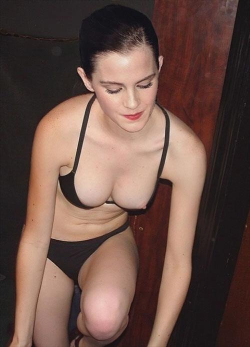 エマ・ワトソン、エロ過ぎる誤爆ヌードで乳首丸見え!アイコラじゃなく本当に晒したピンク乳首!