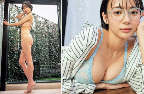 岡田紗佳モデルでプロ雀士Gカップのおっぱい89