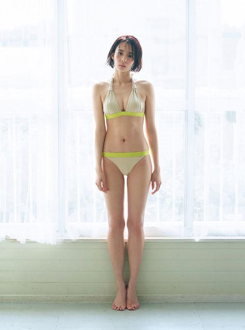 岡田紗佳モデルでプロ雀士Gカップのおっぱい92