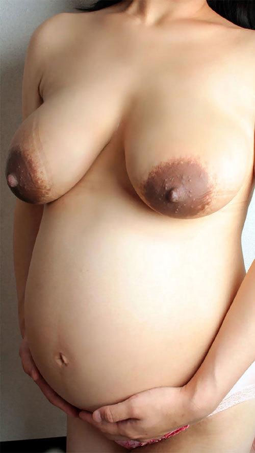 妊婦さんのエロ過ぎるおっぱいとお腹に超興奮30