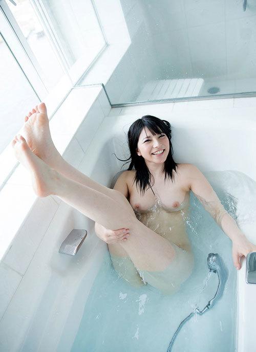 お風呂に一緒につかりおっぱいで癒やされたい12